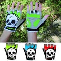 2015 GEL Cycling Gloves Man Women Blue Green Red Cycling  Half Finger Gloves M-XL AG2030