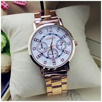 2015 New Arrival Hot sale Men Quartz Watch Women Geneva High Quality Stainless Steel /Leather watches Unisex Brand Watch