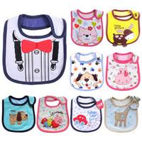 5pcs/lot Carters Baby Bibs Kids BurpCloths Infant Waterproof Saliva Towel Baby Babador Bandana Newborn Feeding Alivmenino Menina