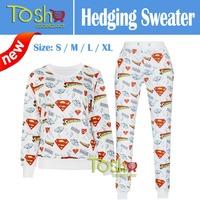 2015 Fashion Womens Emoji Printed Sweatshirt Autumn Women Hoodies Fashion Emoji Clothes Casual Suit Track Suits Free Shipping