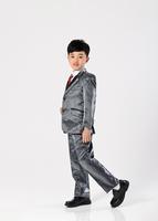 Free Shipping!Cotton Plaid Autumn Cool Boys Suit Sets Blazer+Pant Children's Party Blazers/Gentleman Clotings/outwearsCLO4