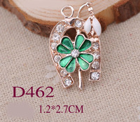 12*27mm Plated GOLD Metal Pendant Jewerly Cloth Shoes Bag DIY Accessories Q027