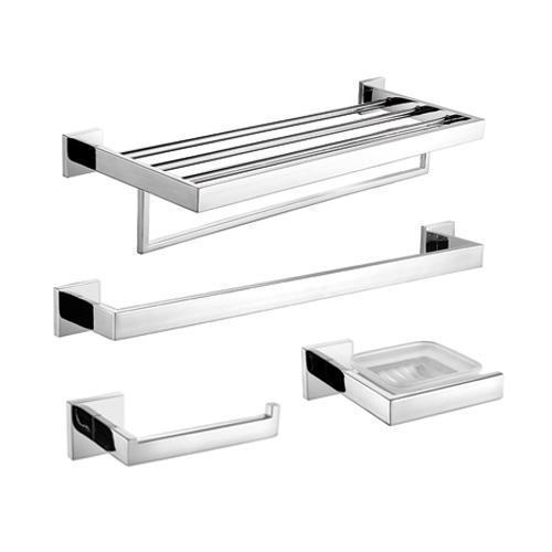 Puertas Para Baño En Acero Inoxidable:Bathroom Towel Bars Sets and Toilet Paper Holders