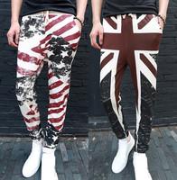 Newest 2015 Fashion Emoji Joggers Mens Hip Hop Sweatpants Men Casual Harem Skinny Pants Trousers