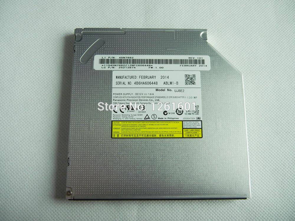 Brand New Internal Slim SATA Tray Loading dvd burner Optical Drive UJ8E2 for Laptop(China (Mainland))