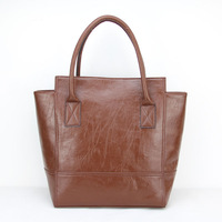 new design with high quality large bag borse in pelle shoulder bags female small bag 6color Free shipping H017darkbrown