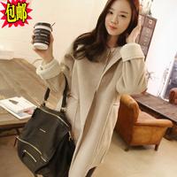 Fashion 2014 women's cotton-padded jacket deerskin fleece berber fleece outerwear overcoat medium-long