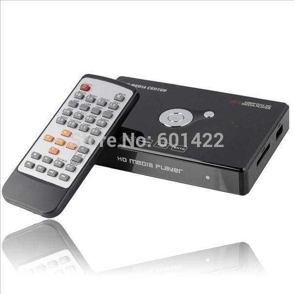 "H.264 Full HD 1920x1080P SATA HDD Media player 3D 2.5""internal External Hard Disk Multimedia center USB HDMI VGA With Remote(China (Mainland))"