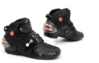 Free shipping 2014 motorcycle boots SPEED BIKERS Microfiber leather racing boots SIZE: 40/41/42/43/44/45 A-9003