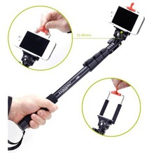 Selfie Telescopic Handheld Monopod With Clip for Mobile Phone Sport Camera Gopro HD Hero 1 2 3 3+ Photo Equipment Drop shipping