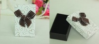 Free Shipping Wholesale 24pcs/Lot 5x8x2.8cm Jewelry Box Pendant Necklace/Ring Box Jewelry Packaging Gift Box