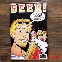 BEER MAN'S BEST FRIEND TIN SIGN Vintage Wall Deco Pub Poster Metal ART Decor  L-146