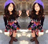 freeshipping!2015 new arrive fashion brand girls 2 pcs set tshirt +skirt set children clothing suit for summer spring autumn
