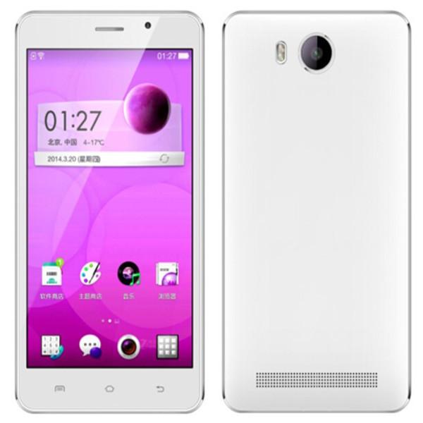 Original JIAKE I9 mobile phone dual Core MTK 6572 5.5inch touch creen 5.0MP Camera Android4.4.2 2g 3g gps smartphone Black White(China (Mainland))