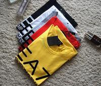 2015 summer autumn fashion Washed cotton short-sleeved t-shirt wholesale men's short-sleeved sport shirt plus size