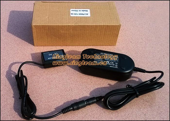 Блок питания AC-PW20 PW20 PW20AM для камер Sony альфа A7 7R 7 S NEX-3 5 6 7 SLT-A33 A55 A65 A77 II A3000 A5000 A5100 A6000