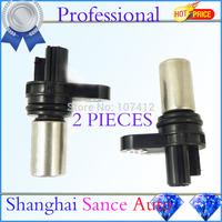 Crankshaft Camshaft Position Sensor 2PCS 237316N21A For Nissan Altima Urvan Frontier X-Trail Sentra SE-R NP300 2002-2009 2010-12