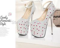 2015 Ladies Beautiful Wedding Shoes Fashion Rhinestones diamonds High-heeled Wedding Shoes Leather Shoes