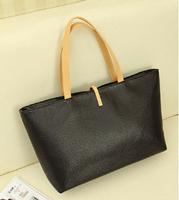 Free Shipping Man-Made Leather Women's leather handbag large handbag Coin purse bag