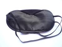 Wholesale 100PCS Black Silk Sleep Eye Rest Eye Shade Sleeping Mask