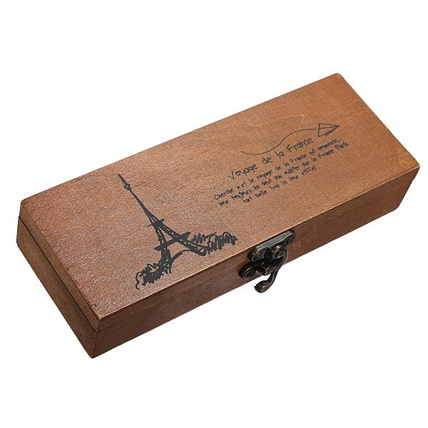 пенал No  Wooden Pencil Case