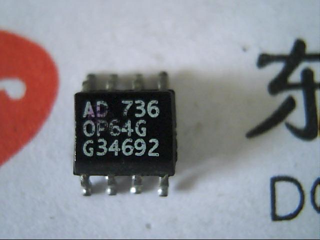 Free shipping 5PCS Low Power Video Op Amp OP64G OP64GS(China (Mainland))