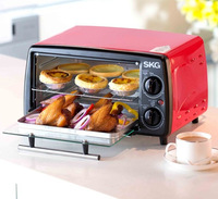 free shipping Baking ovens 12L mini family use multi-function electric roast Toaster