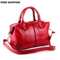 New 2015 European Vintage Women Handbag Fashion Oil Leather Women's One Shoulder Handbags Women messenger bag motorcycle bags
