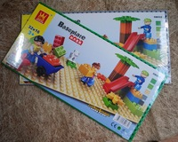 Free shipping  baseplate building block big brick 32x12dots  wholesales and retails Drop shipping