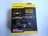 Nitecore HC50 headlamp CREE XM-L L2 LED 565 Lumen double red light Headlight without battery