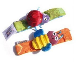 20 pçs/lote Original chocalhos sino de mão banda lamaz faixa de relógio brinquedos do bebê 1230 sylvia 36817681278(China (Mainland))