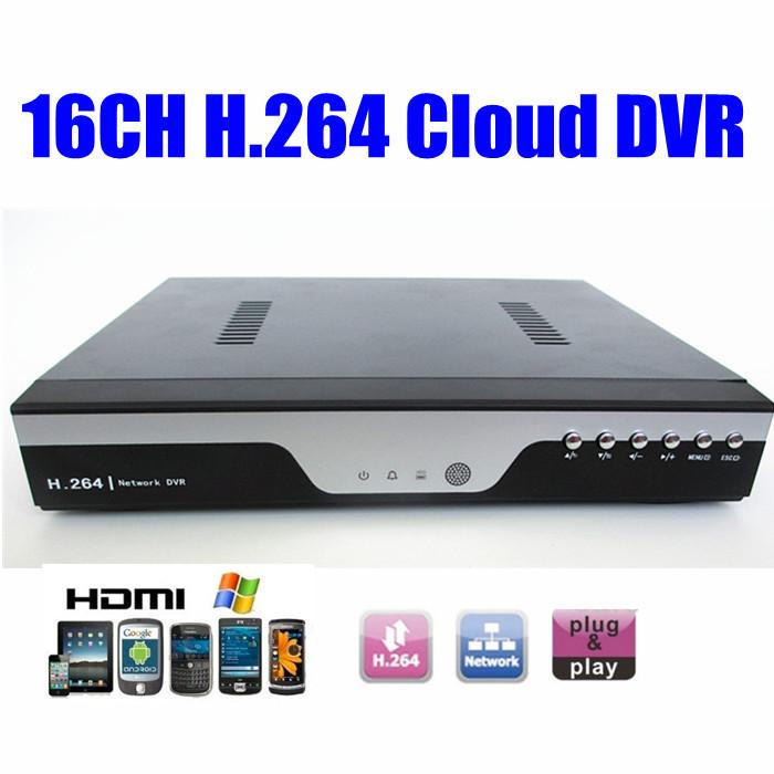 Cloud 16ch cctv dvr video recorder 16 channel standalone H.264 Surveillance DVR System Videograbador 1080p hdmi iphone remote(China (Mainland))