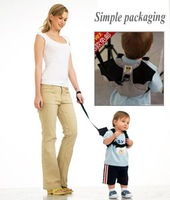 Kid Baby Safety Harness Toddler Reins Backpack Straps gray