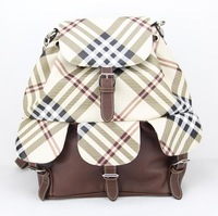 HOT !Free Shipping College Style Pu Leather Backpack Women Travel Bag School Backpack pouch mochila Women Backpack H097brown