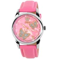 Luxury Brand Butterfly Design Casual Quartz Watch Women Leather Dress Watches Women's Fashion Wristwatches relogios feminino