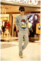 billionaire boys club Korean cotton pullover sweatshirt men Viking pattern sudaderas hombre tee
