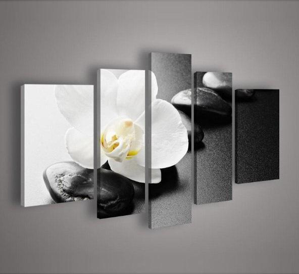 Online kopen wholesale orchidee schilderij uit china orchidee schilderij groothandel - Schilderij decoratie voor woonkamer ...