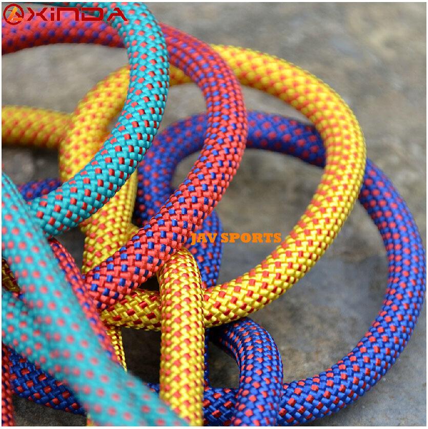 XINDA 10.5mm* 20M rock climbing rope abseiling rope climbing cord climbing equipment+Free shipping(SKU12050455)(China (Mainland))