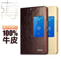 Free Shipping Flip Fashion Genuine Leather case for Huawei Honor X1 Real Calfskin Case Back Cover Top Quality Cell Phone Case