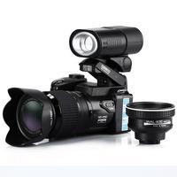 Polo  16MP D3300 Digital Camera HD Camcorder DSLR Camera Wide Angle Lens 21x Telephoto Lens