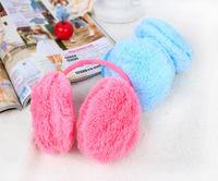 Free Shipping New Hot Ear muff New Colorful Ear muffs Earwarmers Women Earmuffs Earlap Warm Headband Winter Muff
