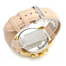2015 New Women s Geneva Watch Roman Numerals Faux Leather Analog Quartz WristWatch Stainless Steel fashion