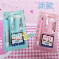 20291 erassable fountain pen ink sac fountain pen set 1 + 6 ink sac fountain pen