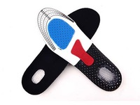 Free Shipping+Wholoesale Orthotic Arch Support Shoe Pad Sport Running Gel Insoles Shock Absorb Insert Cushion,50pairs/lot