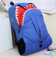 ANGEL ! 2015 new Shark facebook backpack fashion Personality bag girl's school bag men's travel bags FF692