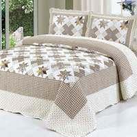 2015  good quality 107-2colorful prewash bedcover bedding set