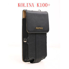 Universal Original Remax Leather Case for KOLINA K100+ Android Smartphone MTK6592T  Octa Core celular 5.5inch Free Shipping