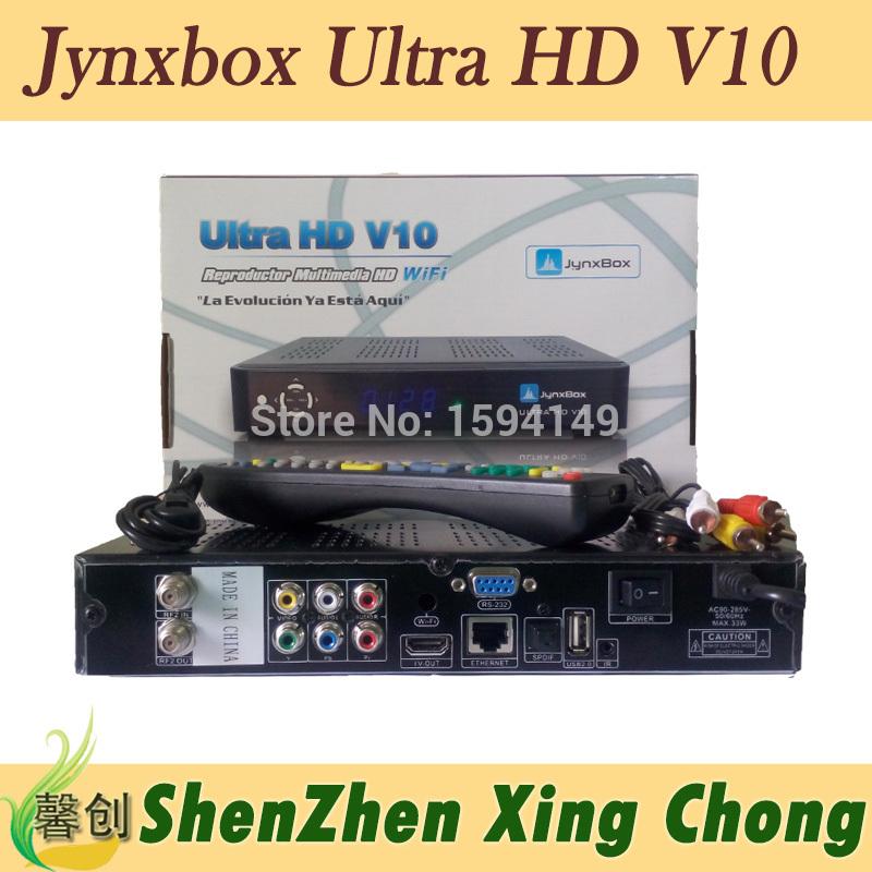 satellite finder JynxBox Ultra HD V10 receptor satellite digital hd fta hd receiver iks account(China (Mainland))