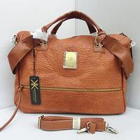 Hot 2015 New KK women's handbags, simple atmospheric color, orange shoulder bag handbag Messenger bag shopping bag FREE SHIPPING