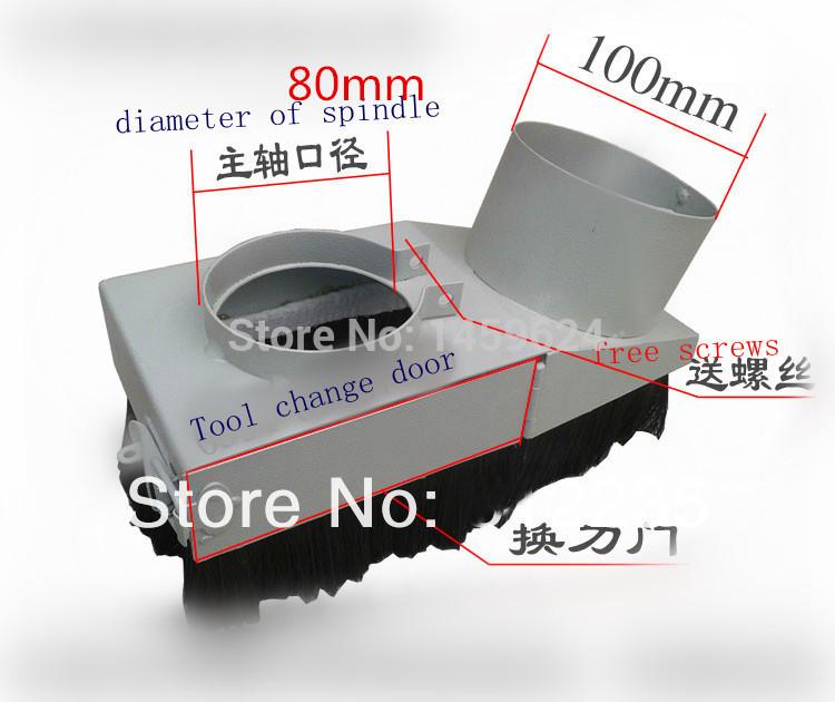 80mm dust cover vacuum cleaner motor cnc vacuum cleaner(China (Mainland))